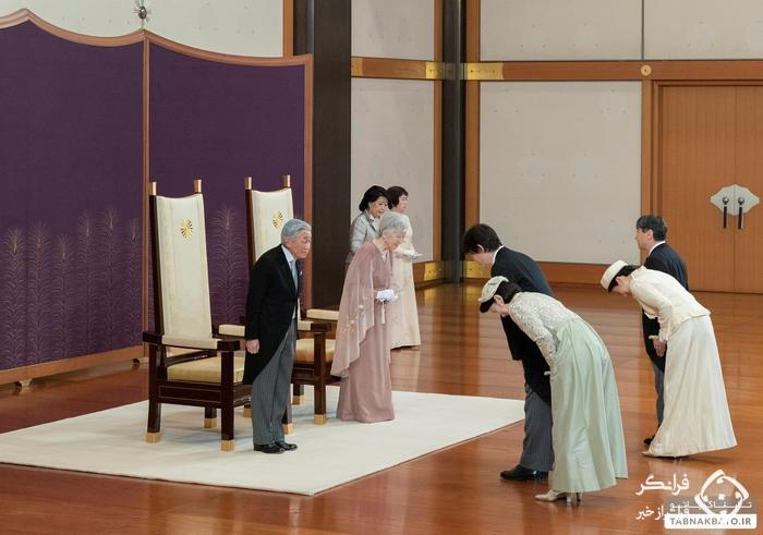 امپراتور ژاپن و همسرش، سالگرد ازدواجشان را جشن گرفتند