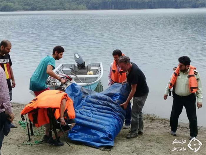 جمع آوری قایق های شخصی در حریم سد لفور