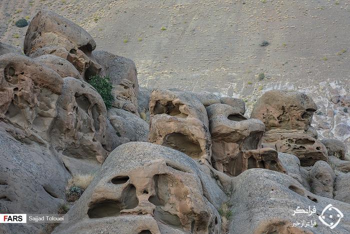 روستایی سنگی در تهران! +تصاویر