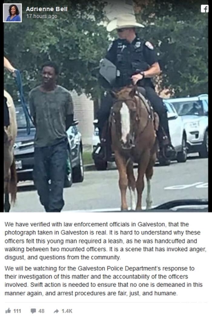 رسوایی جدید پلیس آمریکا در تگزاس!