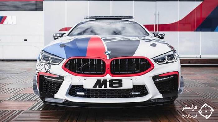 M8 پرچم دار، خودروی ایمنی ب ام و در موتو جی پی