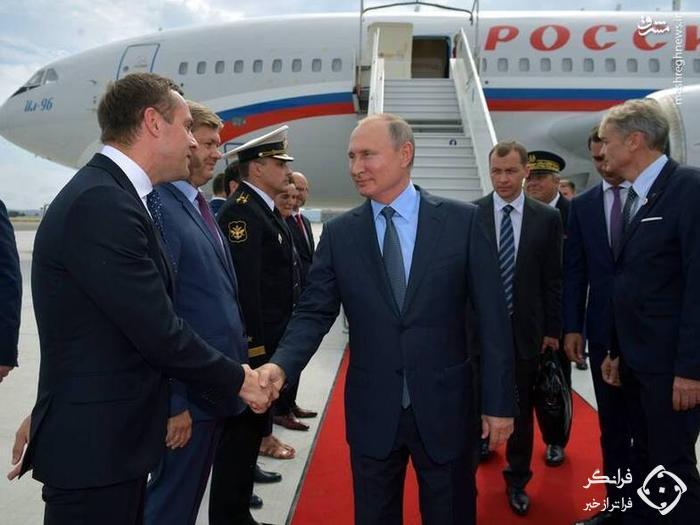 محافظان پوتین در آسمان +عکس