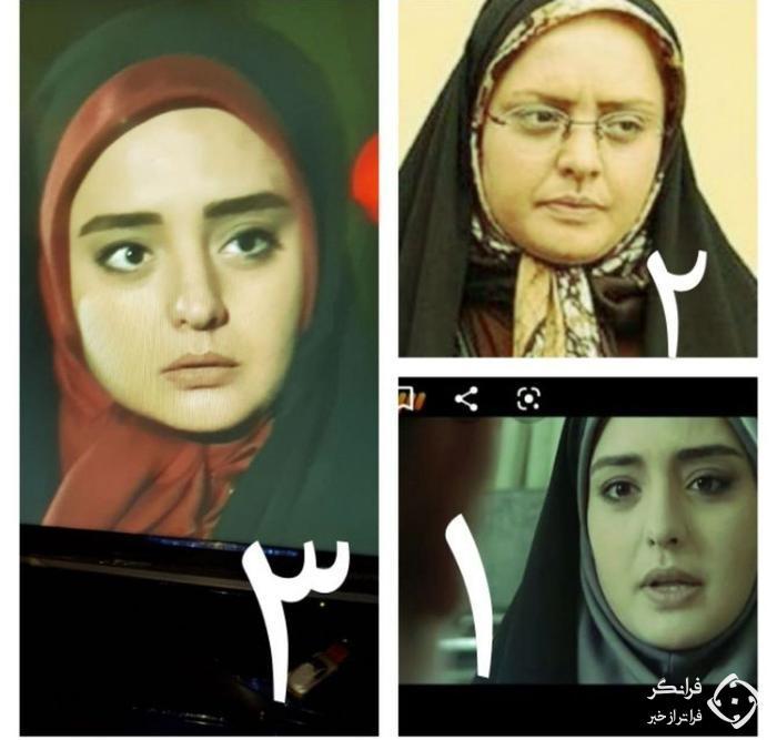تصویر نرگس محمدی در سه فصل سریال ستایش  /  هر چه زمان گذشته، جوان تر شده