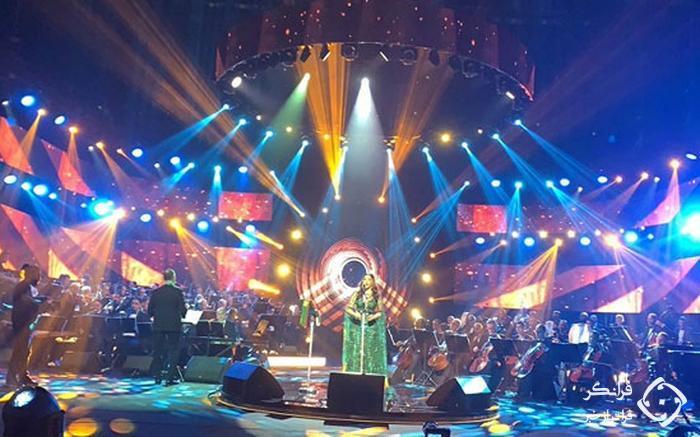 کنسرت بلقیس و احلام در عربستان+عکس