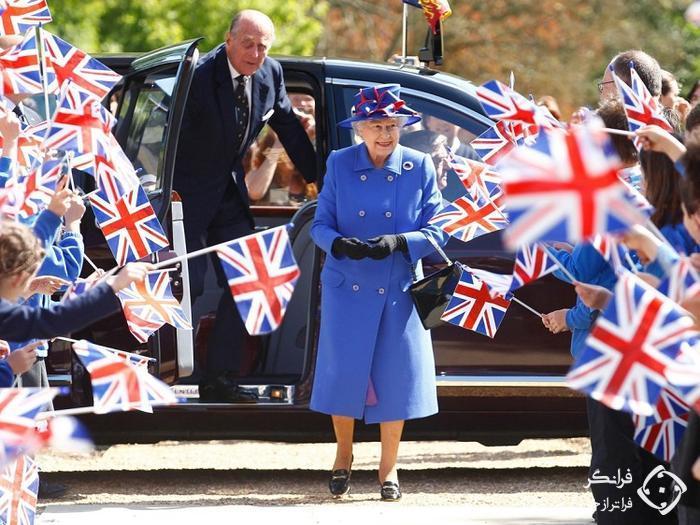 ۶ کار عادی که ملکه بریتانیا هرگز در عمرش انجام نداده