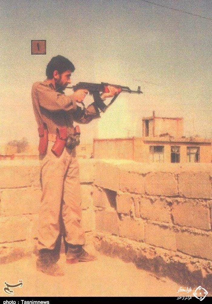 این سردار سپاه متخصص تاکتیک های نظامی بود / تصاویر