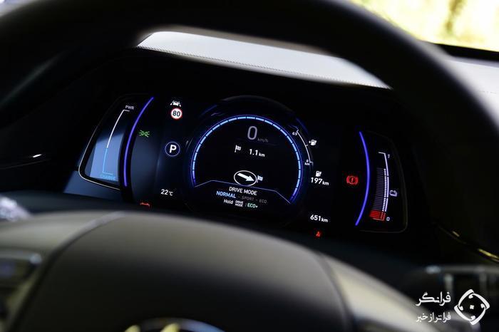 تجربه رانندگی با هیوندای آیونیک الکتریک 2019