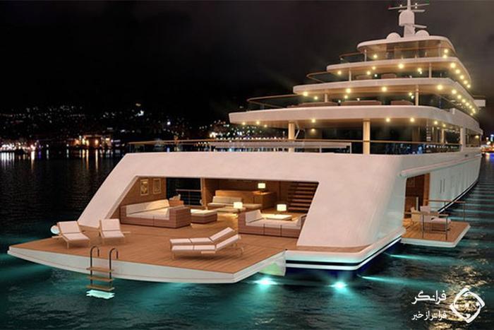 کشتی دربستی و میهمانی روی دریا؛ تفریحات جدید پول دار ها