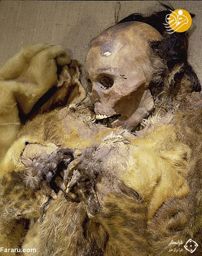 مومیاییِ کودکی که زنده زنده دفن شد+عکس
