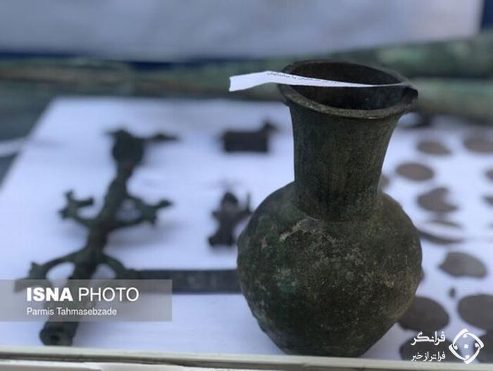 کشف عتیقه های متعلق به هزاره دوم در تهران