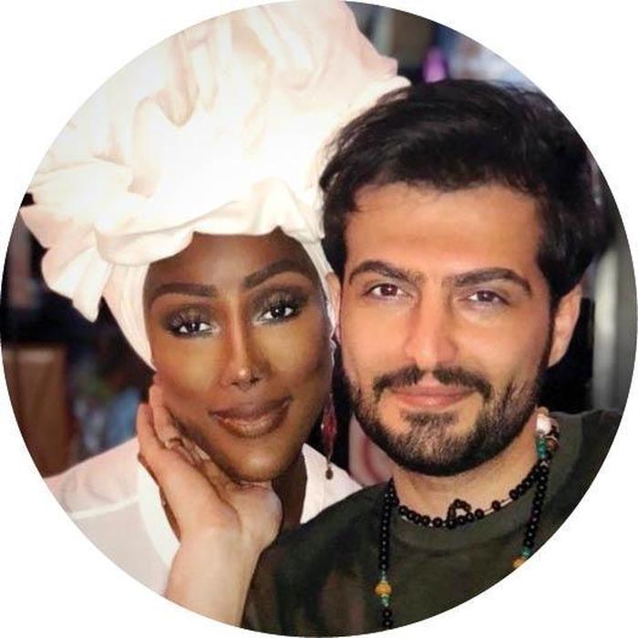 پسر ایرانی که با دختر یک ملکه قبیله آفریقایی ازدواج کرده +تصاویر