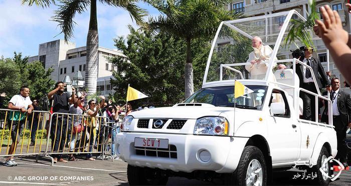 اولین پاپ موبیل نیسان، خودرویی آشنا برای ایرانی ها!