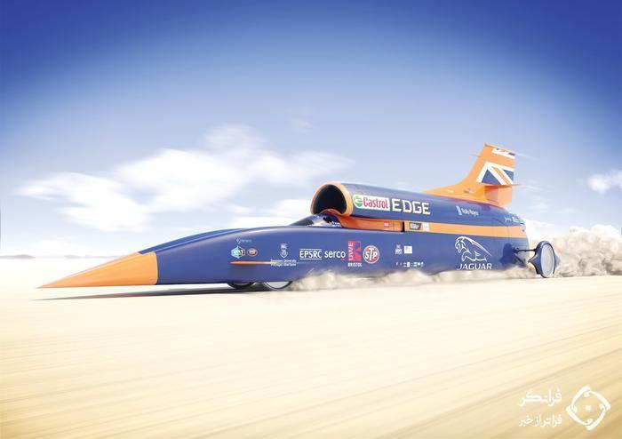 دست یابی به سرعت 804 کیلومتر در ساعت با بلاد هاوند LSR!