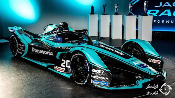 رونمایی از خودروی مسابقه ای جگوار برای فصل جدید فرمول E