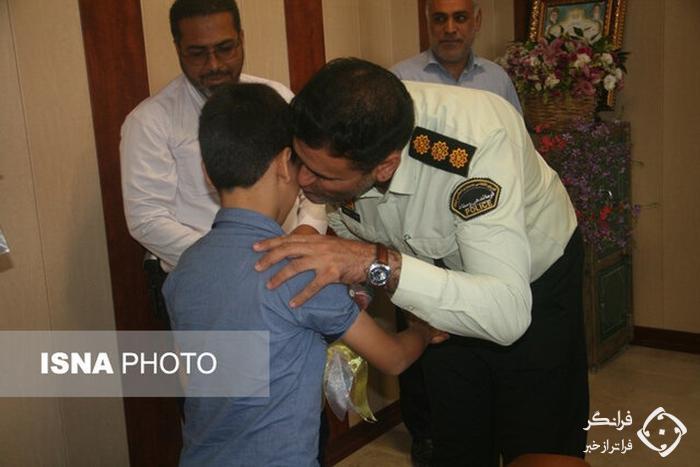 رهایی گروگان 8 ساله از چنگال آدم ربایان در میناب