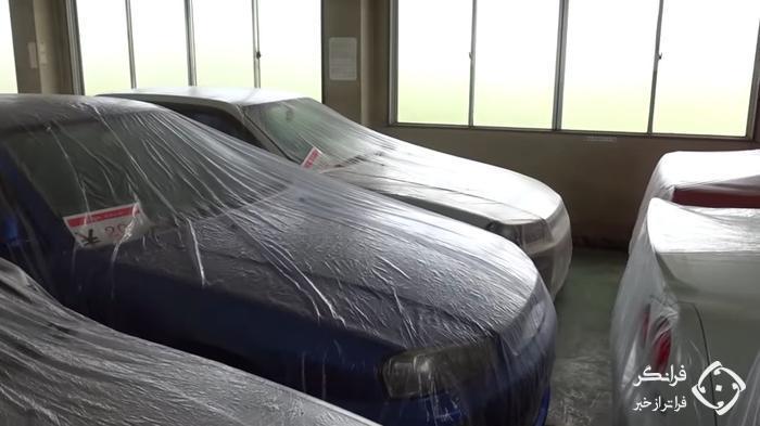 فروش چندین نیسان اسکای لاین R32، R33 و R34 بکر