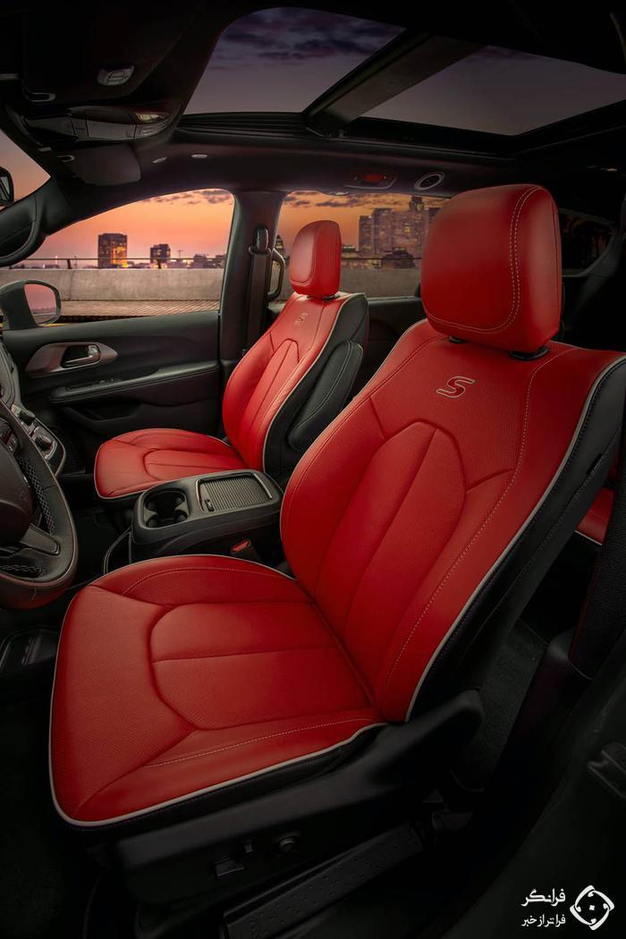کرایسلر پاسیفیکا 2020 با پکیج رسمی Red S ادیشن