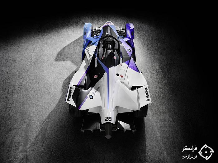 رونمایی ب ام و i آندرتی از خودروی جدید فرمول E