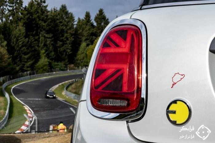 مینی کوپر SE می تواند بدون ترمز در نوربرگ رینگ حضور یابد!