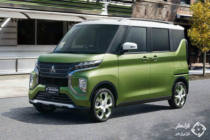 معرفی کانسپت جدید میتسوبیشی Super Height K-Wagon