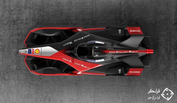 نگاهی به خودروی مسابقه ای فرمول E نیسان