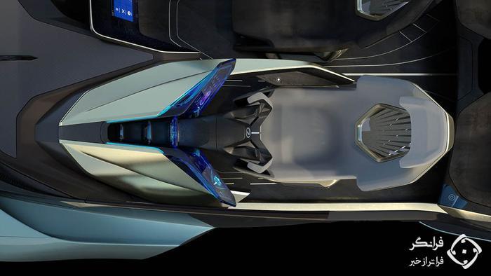 کانسپت لکسس LF-30، محصولی الکتریکی برای آینده…