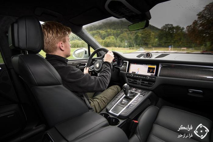 تجربه لذت بخش رانندگی با پورشه ماکان توربو 2019