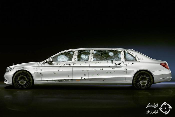 دست برتر مرسدس در تولید خودروهای ضدگلوله…
