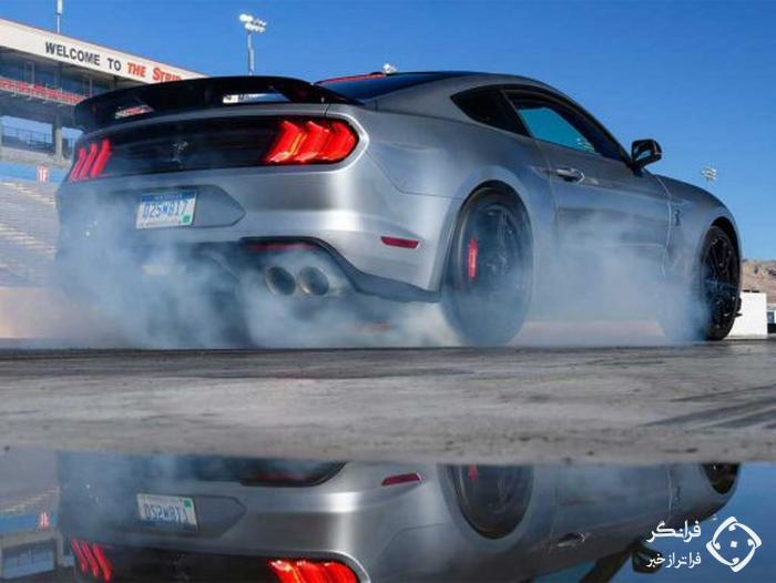 3.3 ثانیه، شتاب رسمی موستانگ شلبی GT500 جدید