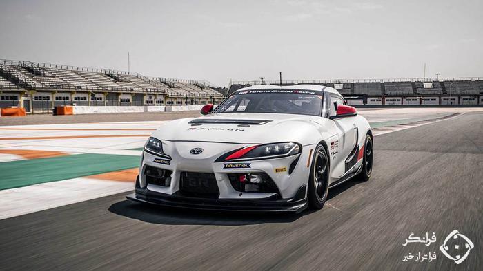 معرفی تویوتا سوپرا GT4 مسابقه ای با قدرت 429 اسبی
