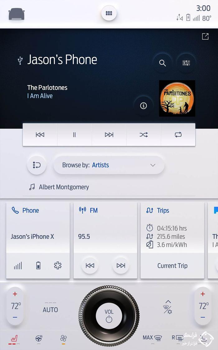 ویژگی های سیستم اطلاعات سرگرمی جدید فورد SYNC 4