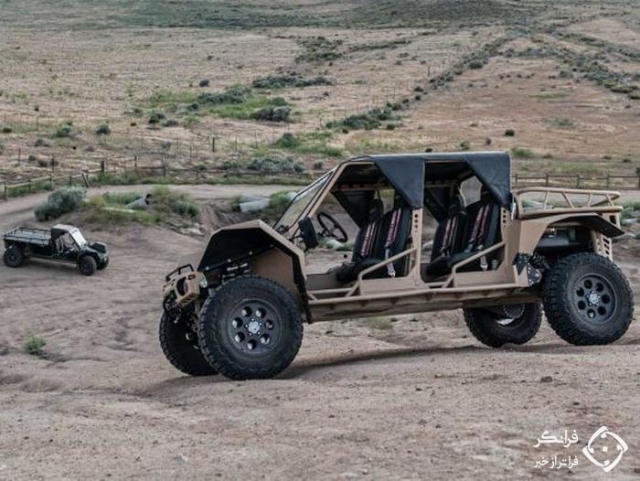 تام کار TX4، هیولای همه جاروی نظامی اما قابل خریداری عمومی
