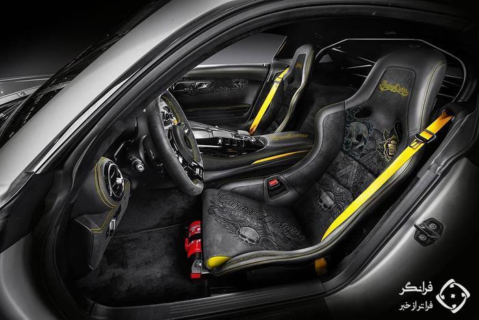 مرسدس-ای ام جی GT R Pro کارلکس دیزاین، افعی خوش خط وخال!