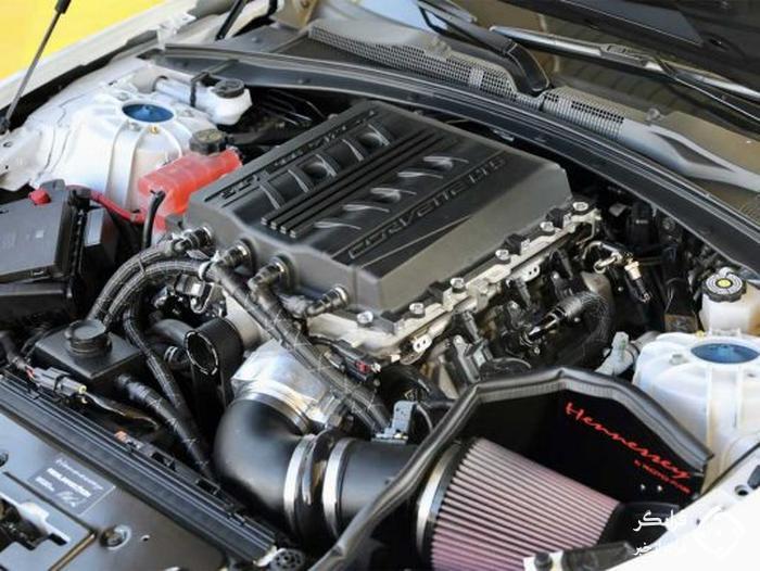 هایپر ماسل کار! کامارو ZL1 هنسی با موتور 1200 اسبی کوروت ZR1