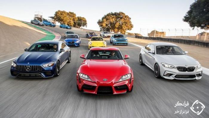 رقابت بهترین خودرو برای راننده موتورترند 2019