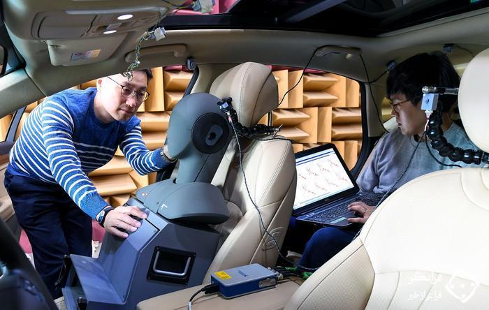 تکنولوژی کنترل صدای جاده ای فعال هیوندای