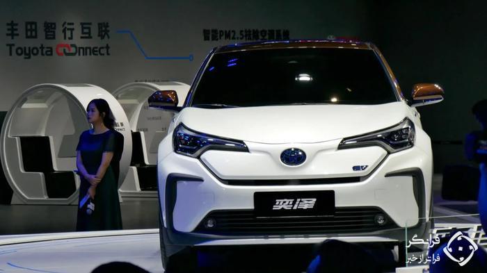 جوینت ونچر تویوتا و BYD برای تولید خودروهای الکتریکی