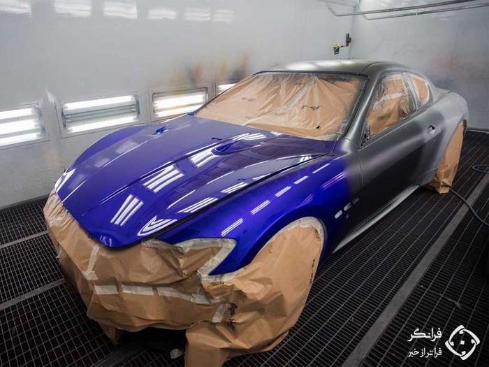 خاتمهٔ تولید مازراتی گرن توریزمو با معرفی یک مدل ویژهٔ رنگارنگ