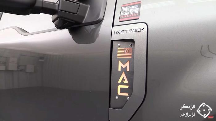 فورد F-350 ماک تراک ادیشن، غول بی شاخ و دم آمریکایی!