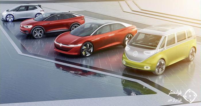 حمله سنگین گروه فولکس واگن به بازار خودروهای الکتریکی!