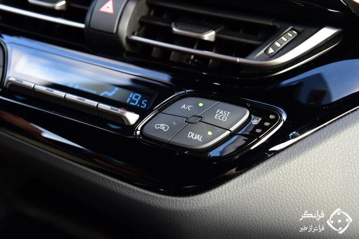 تجربه رانندگی با تویوتا C-HR هیبرید جدید