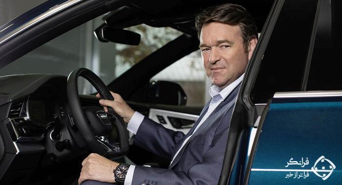 مارکوس دوزمن، مدیرعامل جدید آئودی