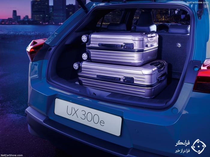 معرفی UX300e، اولین محصول تمام الکتریکی تاریخ لکسس