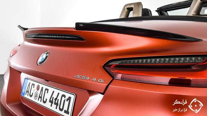 ب ام و Z4 ای سی اشنیتزر، ترکیبی از قدرت بیشتر و ظاهر زیباتر