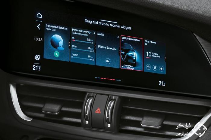 اولین تجربه رانندگی با آلفارومئو جیولیا 2020