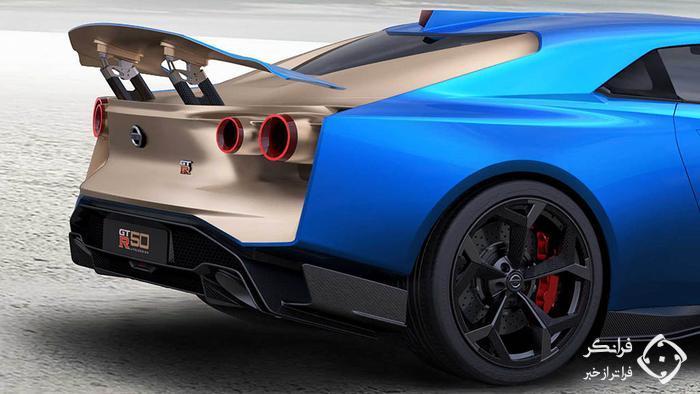 معرفی رسمی نسخه تولیدی نیسان GT-R50 ایتال دیزاین