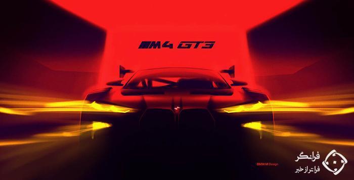 تیزر ب ام و M4 GT3 جدید، طوفان در راه است…