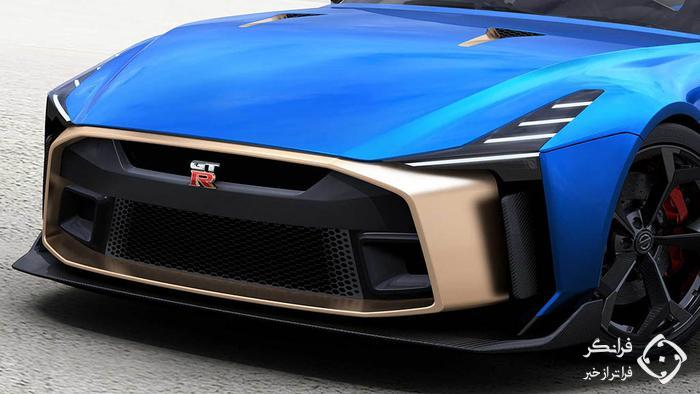 جهان در آرزوی تولید نیسان GT-R50 پیشرانه وسط!