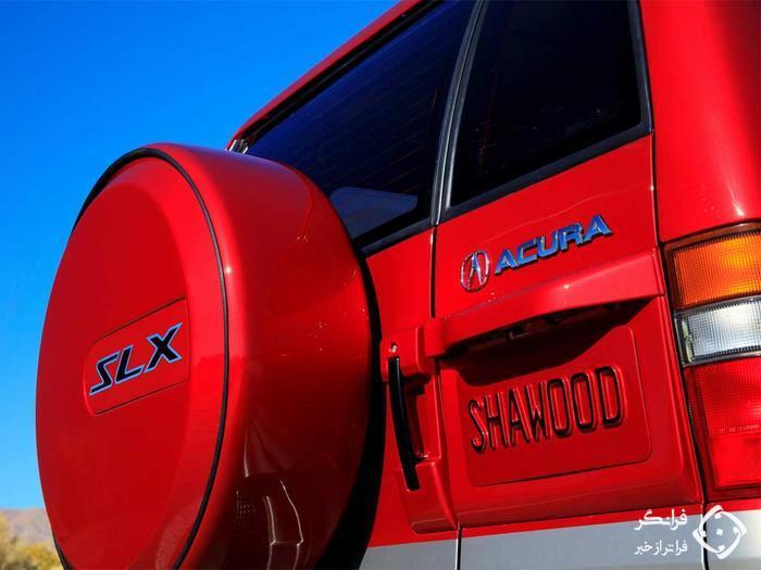بازسازی و مدرن سازی SLX مدل 1997، اولین شاسی بلند آکورا
