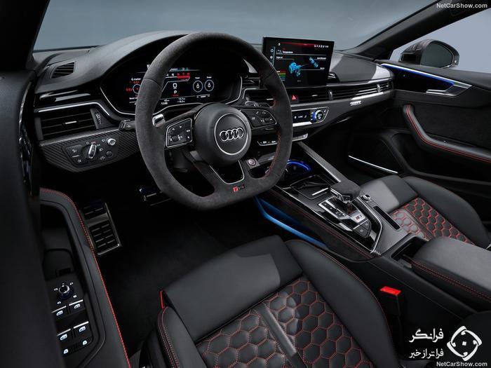 معرفی آئودی RS5 مدل 2020 با ظاهر بروز و تکنولوژی های جدید